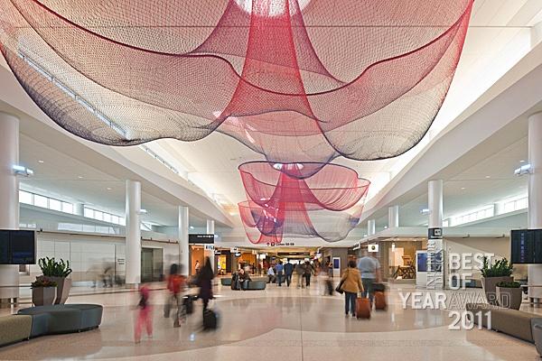 San Francisco International Airport, Terminal 2 by Gensler.