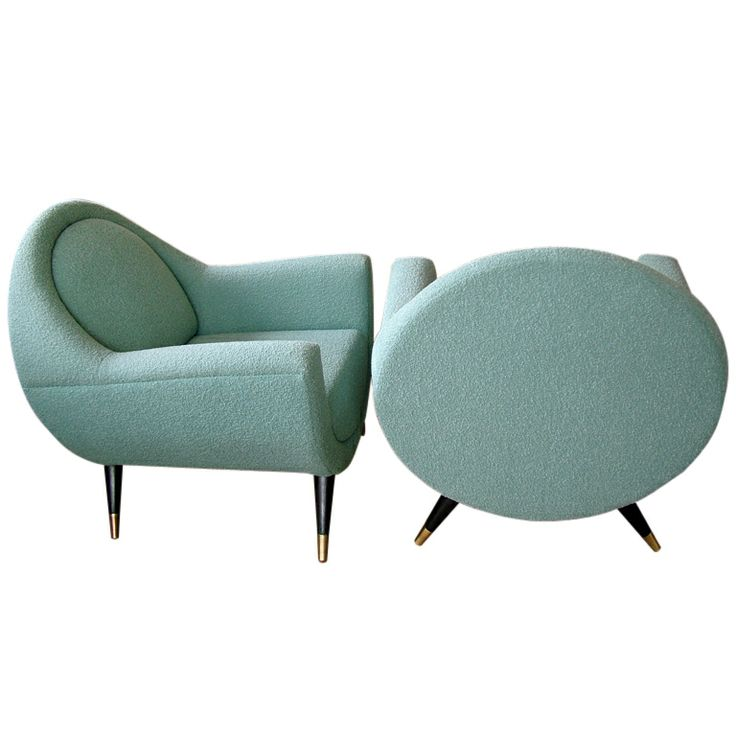 1950's armchairs.