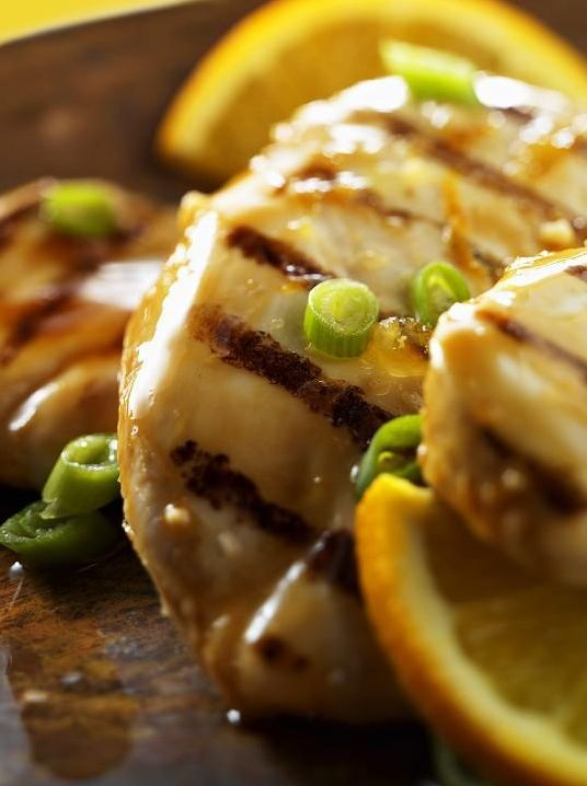 Grilled Orange Chicken recipe- Dinner #freezercooking #grilling #diet