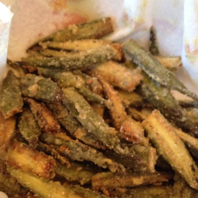 25+ best ideas about Baked fried okra on Pinterest | Okra ...