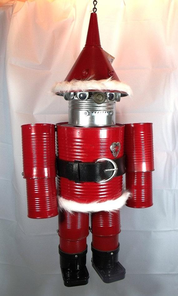 Shabby Chic Santa ReCycled