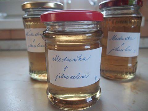 Výsledek obrázku pro sirup jitrocelový s meduňkou recepty ze šumavské