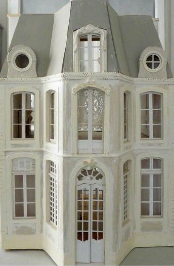 Lea Frisoni. Looks like the Chateau de Morsan in Normandy ...
