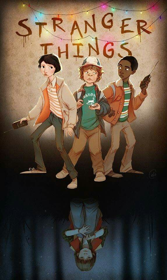 Papel de parede Stranger Things http://troublewithgary.com/stranger-things-netflix-2016/