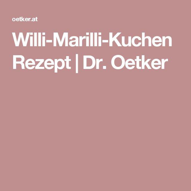 Willi-Marilli-Kuchen Rezept | Dr. Oetker