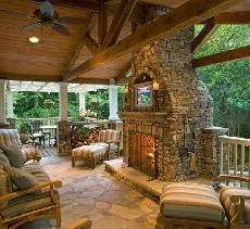 awesome outdoor patio.  on tackks.com for men.