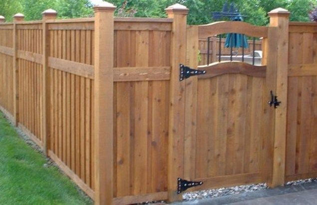 Free wood fence gate plans woodworking projects plans for Free privacy fence design plans