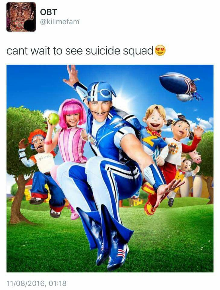 Lazy Town! A big part of my childhood!