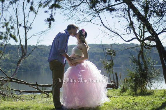 Evelyn Tutu Erwachsenen leicht rosa in romantischen lange Tutu Ballroom Tüll Rock Hochzeiten Mutterschaft Foto Prop Prom besonderen Anlass