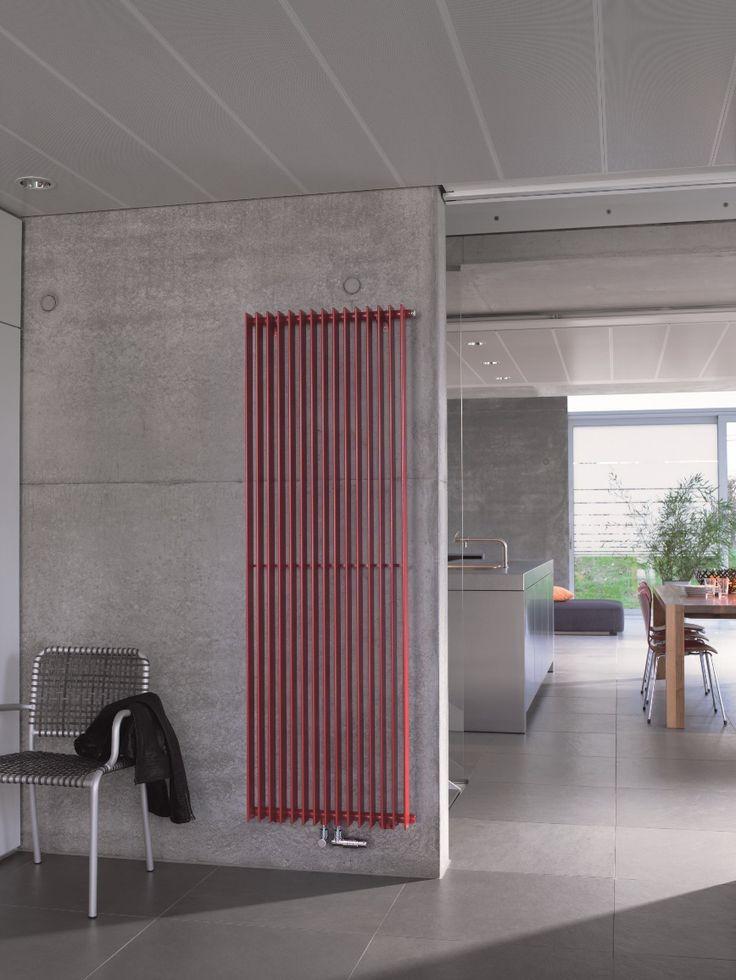 Designradiator van Zehnder die laat zien dat de radiator ook een wezenlijk onderdeel van het interieur kan zijn.