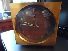 Mid Century Modern Clock by JECO electronic Japan Rare