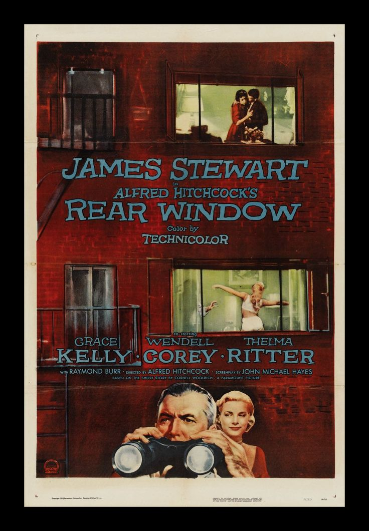 a review of rear window a film by alfred hitchcock One of alfred hitchcock's very best efforts, rear window is a crackling suspense  audience reviews for rear window  the film ranks among alfred hitchcock's.