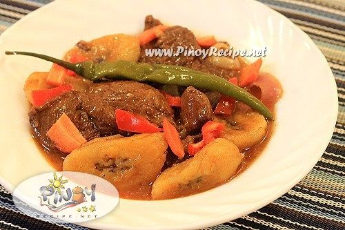 Pork Estofado Recipe (Stewed Pork)