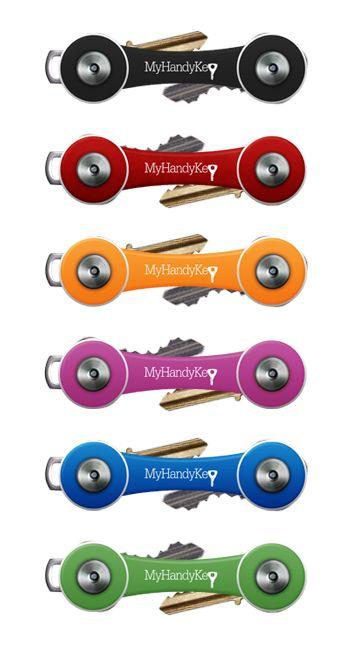 The Classic HandyKey organizer is now available in 4 vibrant new colors. 6 awesome colors to choose from. Which one do you prefer?