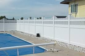 Image result for privacy fence around pool