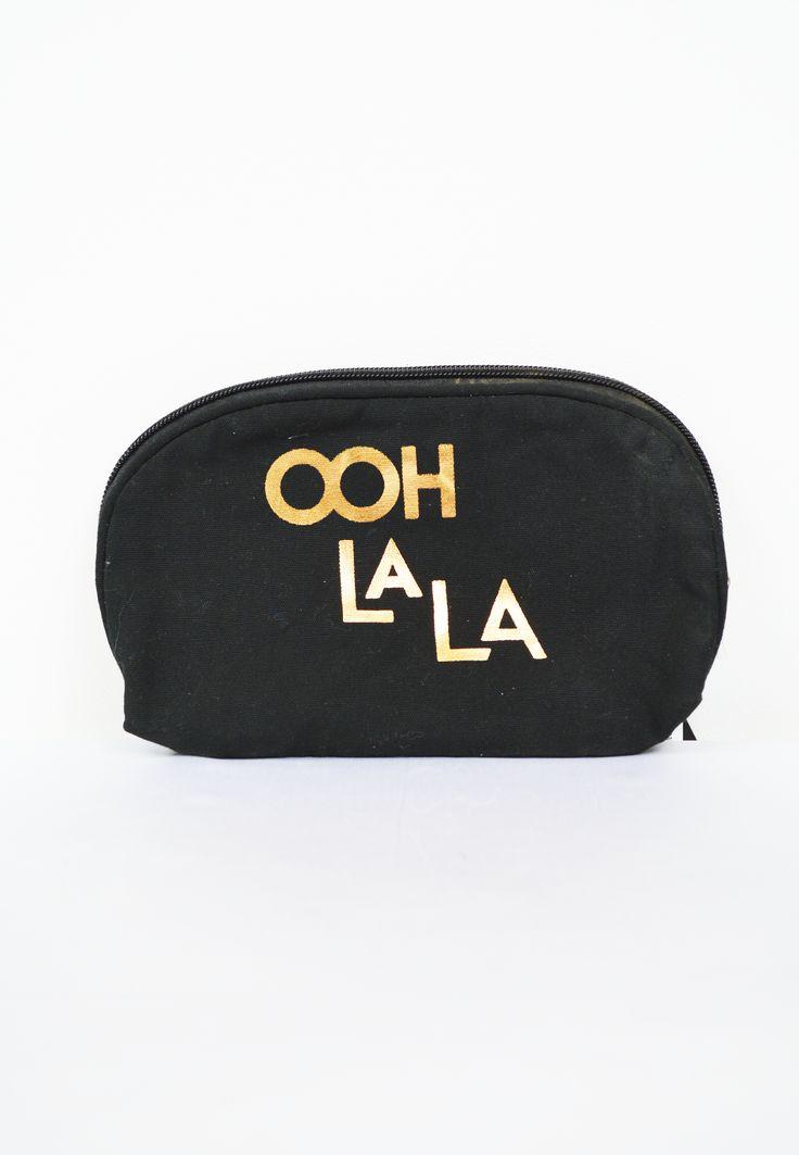 ooh la la cosmetic bag