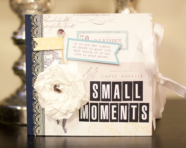 TERESA COLLINS DESIGN TEAM: Lara Scott - Guest Designer. Mini Book using Everyday Moments