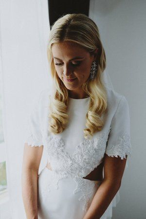 Prea James Bridal - Couture real bride Carolyn... Image by Willow & Co #bride #realbride #sydneybride #preajamesbridal