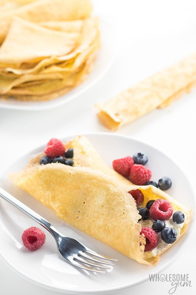 Gluten Free Keto Crepes Recipe With Almond Flour The Best