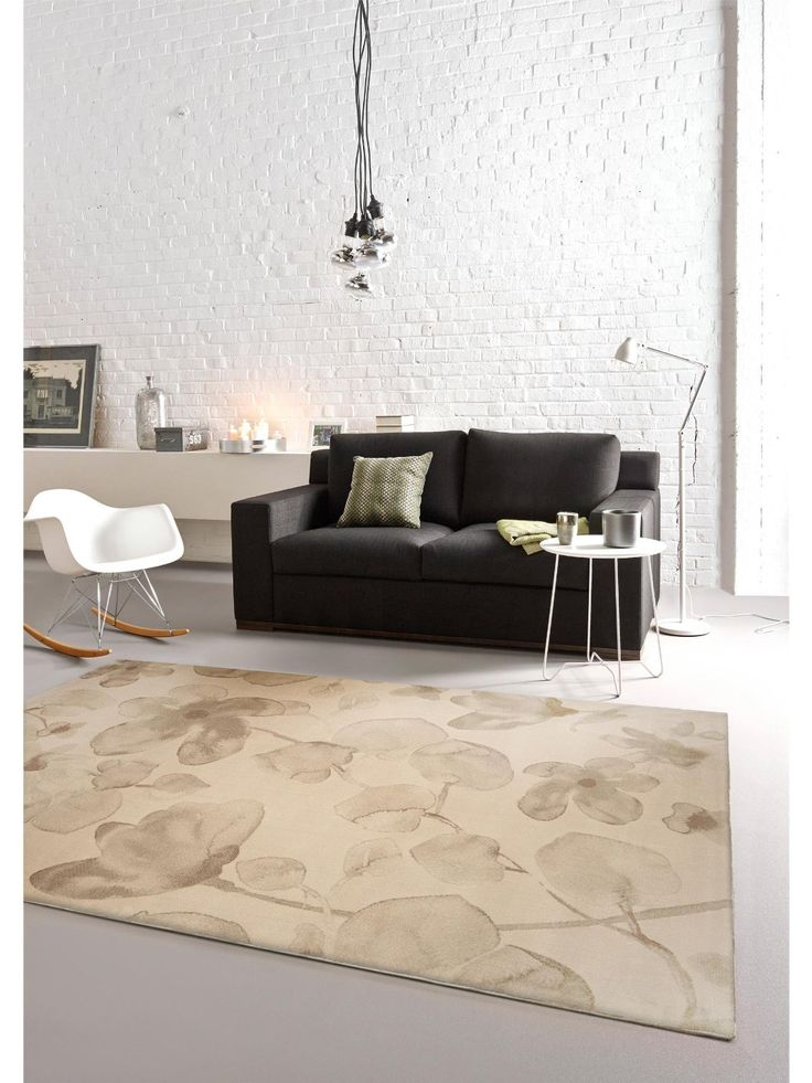 benuta tapis de salon moderne phrena pas cher beige 120x170 cm label de qualit gut