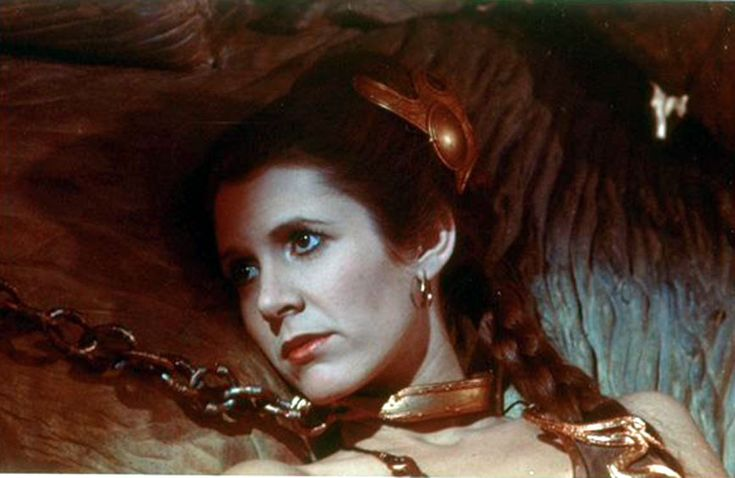 Princess Leia Organa from Star Wars Episode 6 Return Of ... Jabba The Hutt And Leia Fanfiction