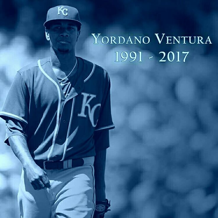 Kansas City Royals pitcher, Yordano Ventura, killed in early morning car accident in his home country of Dominican Republic