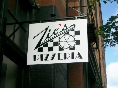 Zios Pizza in Omaha, NE - LOVE it!  I especially love chicken pesto pizza!