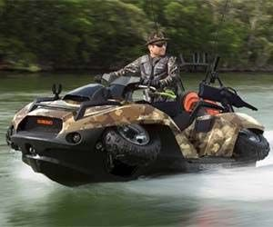 For adrenaline junkies, there's no better toy to quench your thirst for danger and adventure than the amphibious ATV. With unmatched versatility, this radical ATV is capable of taking you through virtually any terrain on the planet. Awesome doesn't even begin to describe the amphibious ATV; like the name suggests, this ATV comes fully equipped…
