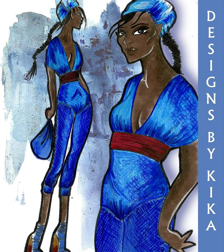 Go check out my sustainability collection at Designsbykika.com #fashion #fashionmodel #model #earthy #earthday #style #sketch #sketchoftheday #graphic #illustration #denim #designsbykika #indigoblue #fashionmodel #fashionillustration #illustration #pretty #beautiful: