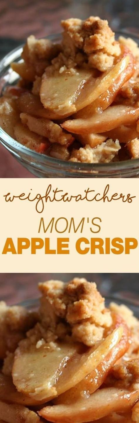 Weight Watcher's Mom's Apple Crisp!!! 22 Recipe Weight