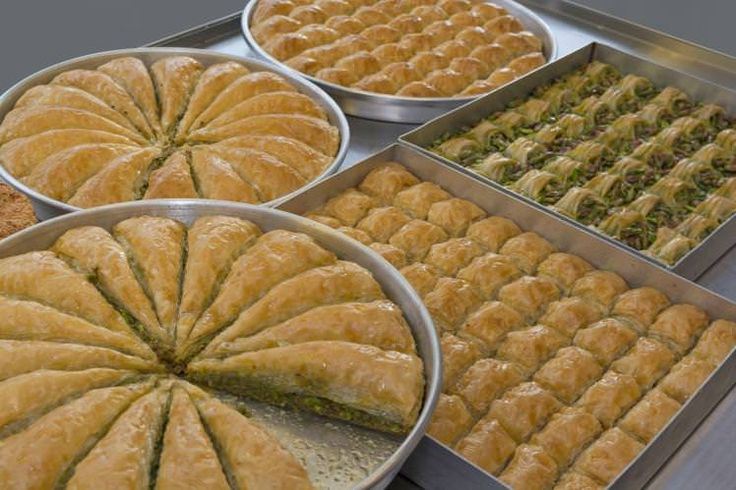 Butter, sugar, filo pastry and nuts: this is baklava, Turkey's best-loved dessert. Image by Ayhan Altun / E+ / Getty