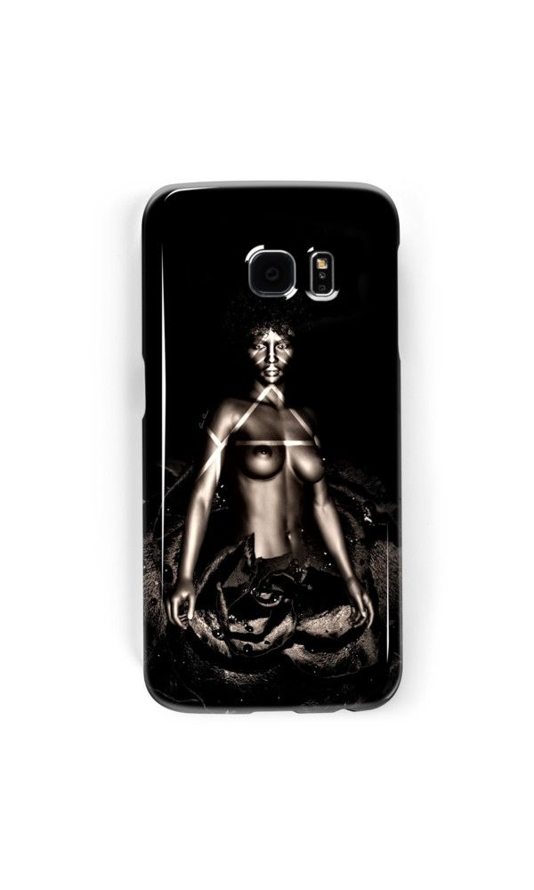 African American Artistic Nude Woman Rose  by Amy Anderson Samsung Galaxy7 edge. Samsung Galaxy7. Phone case