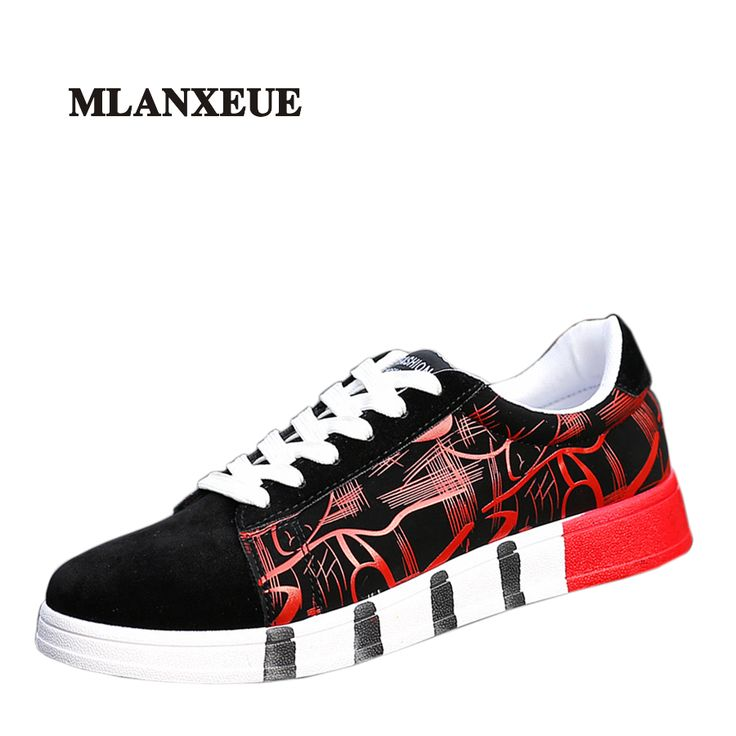 2017 New Arrivals Spring Man Casual Breathable Shoes Men Camouflage Stitching Style Shoes Black Red Punk Hip Hop Style #Affiliate