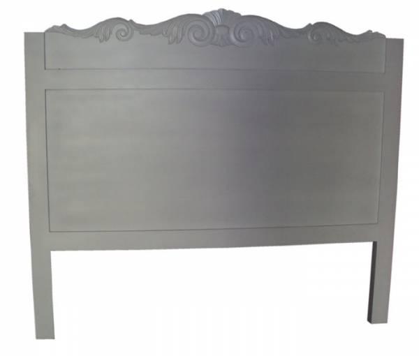 Queen Headboard 160 x 140H White Wash F1771 R