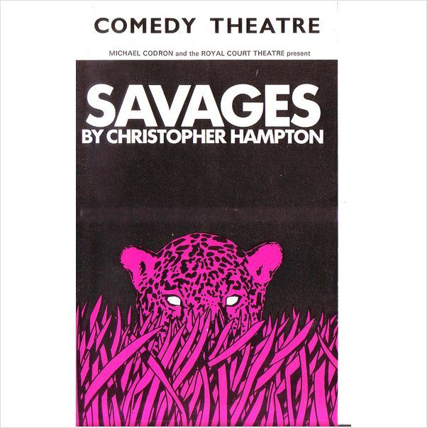 Tom Conti in Savages Comedy Theatre Programme 1973 post free UK address on eBid United Kingdom