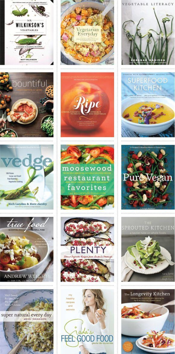 The Ultimate Vegetarian Cookbook Gift Guide Perfect For Holidays Or As A Last Minute Birthday