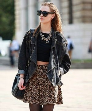 As Seen On The Street: Pulling Off Modern Punk #Street #Fashion