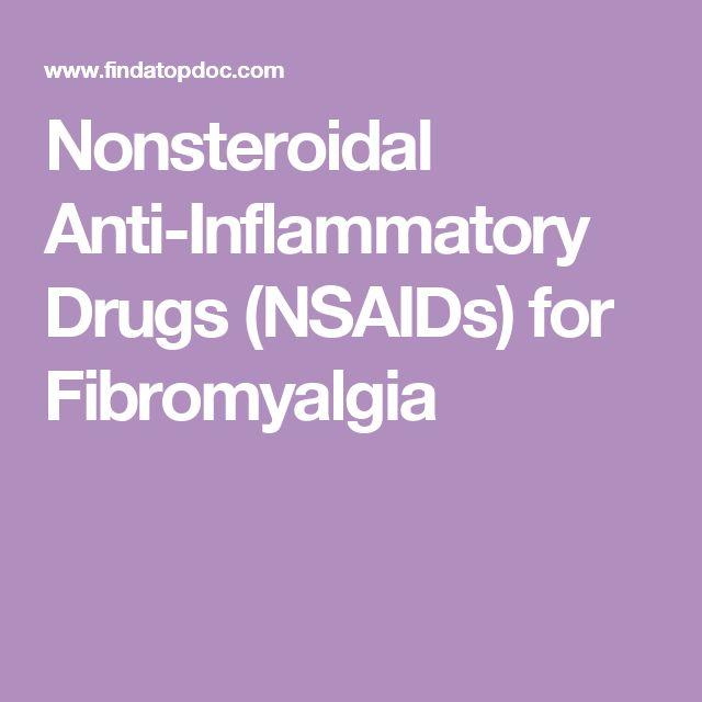 Nonsteroidal Anti-Inflammatory Drugs (NSAIDs) for Fibromyalgia