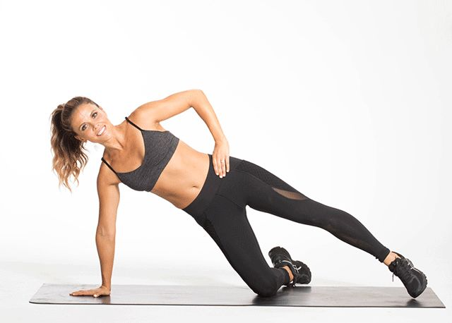 SIDE LEG LIFTS Switch sides after 30 seconds!