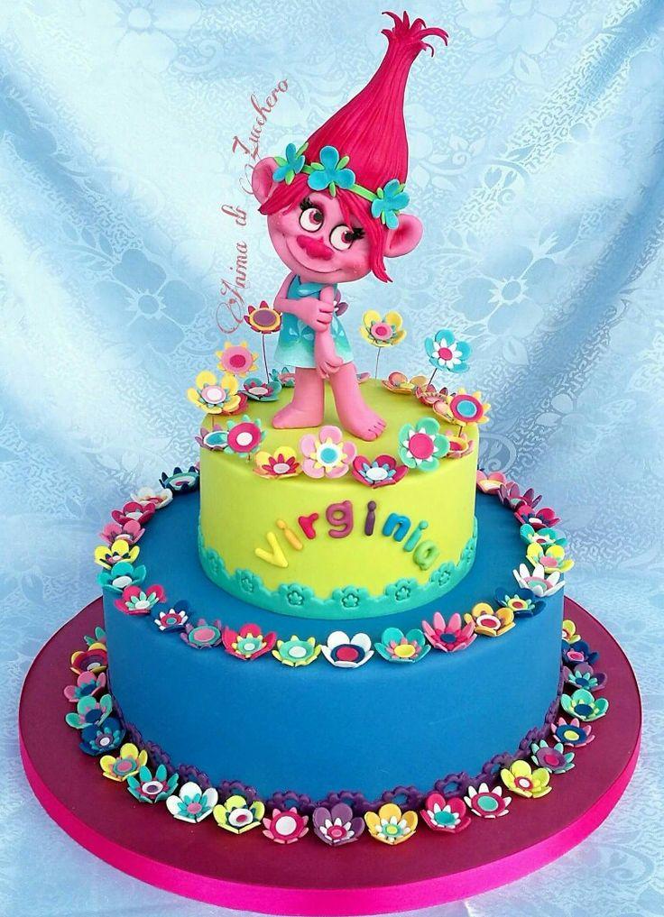 Cake Design Trolls : 4322 best images about Cake on Pinterest Sugar flowers ...