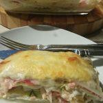 Witlof lasagne Wat zit er in deze Witlof lasagne?  Voedingswaarde per portie:      Kcal: 547     Koolhydraten: 6 g     Eiwitten: 38 g     Vetten: 40 g