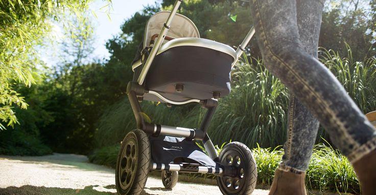 Στην βάση του καροτσιού Joolz μπορεί να προσαρμοστεί port bebe & κάθισμα αυτοκινήτου. #Joolz #stroler #positive #design