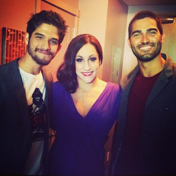 "31.4k Likes, 164 Comments - Jordyn Wieber (@jordyn_wieber) on Instagram: ""#tbt when I met Scott and Derek from Teen Wolf! you can't tell but I was about to faint …"""