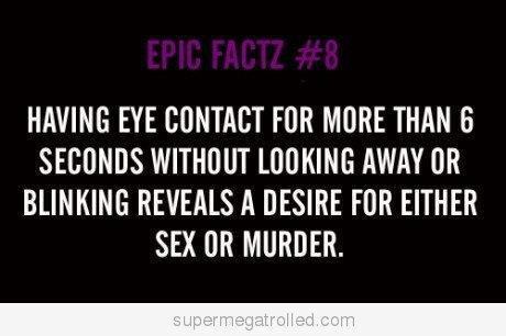 #EyeContact