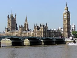 British Parliament consists of the House of Lords and House of Commons. Interested to see how our Legislative branch was modeled off the British counterparts.