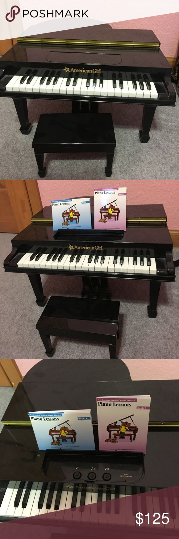 American Girls Doll Baby Grand Piano In excellent condition! Any questions please ask, thx. NO TRADE ❗️❗️❗️❗️price is firm❗️ american girls doll Accessories