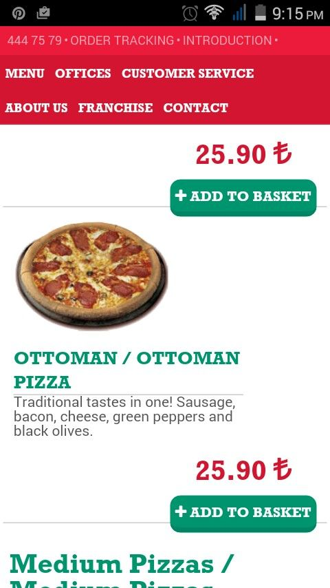 Ottoman pizza - from Papa John's (an American pizza restaurant chain). Nothing halal about THIS Ottoman!
