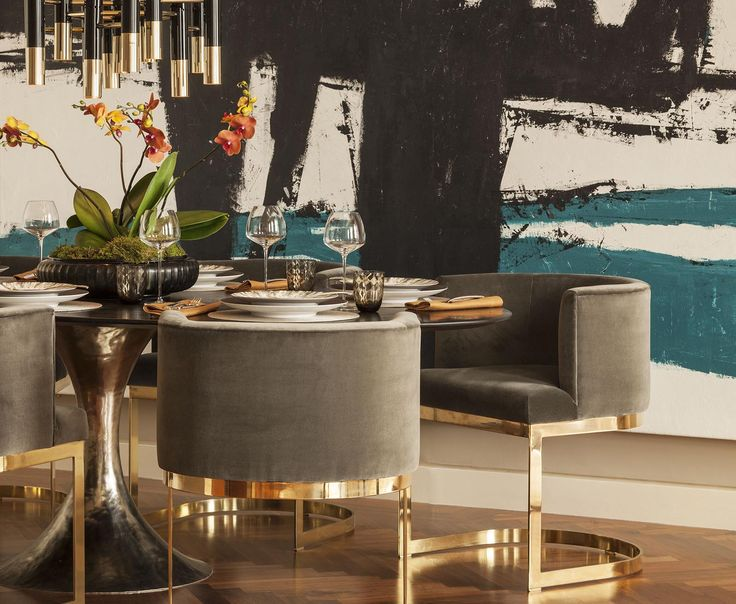 Hyde Park Luxury Apartment - Dining Room - Interior Design by Intarya – Interior Design by Intarya