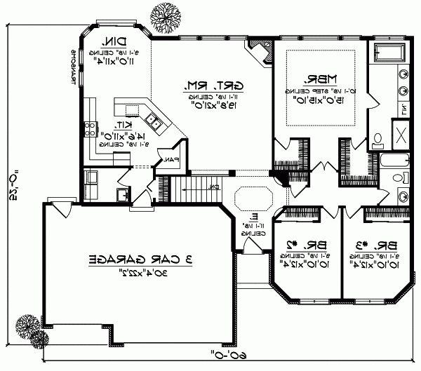 28 best house design plans images on pinterest floor for Monster house plans ranch