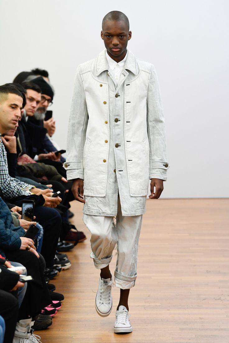 Comme des Garçons Shirt Fall 2018 Menswear Fashion Show Collection